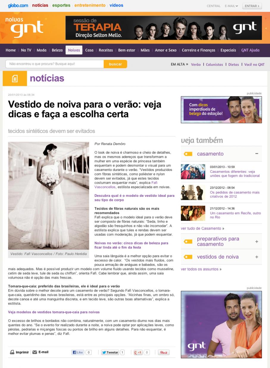 Vestido de noiva para o verão-veja dicas e faça a escolha certa – Notícias – Noivas GNT